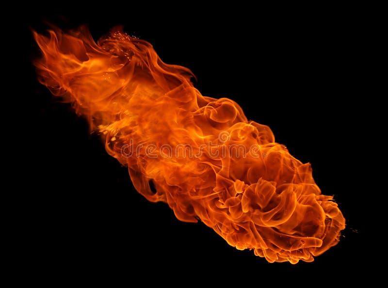 Bola de fogo fotografia de stock royalty free