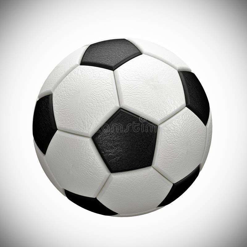 Bola de futebol imagem de stock royalty free