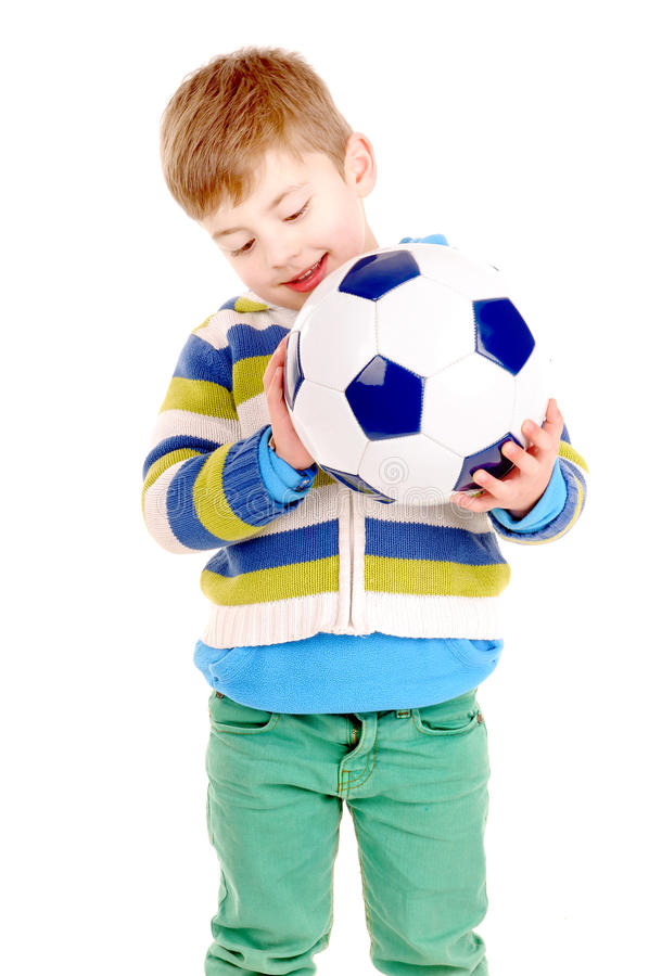 Bola de futebol foto de stock royalty free