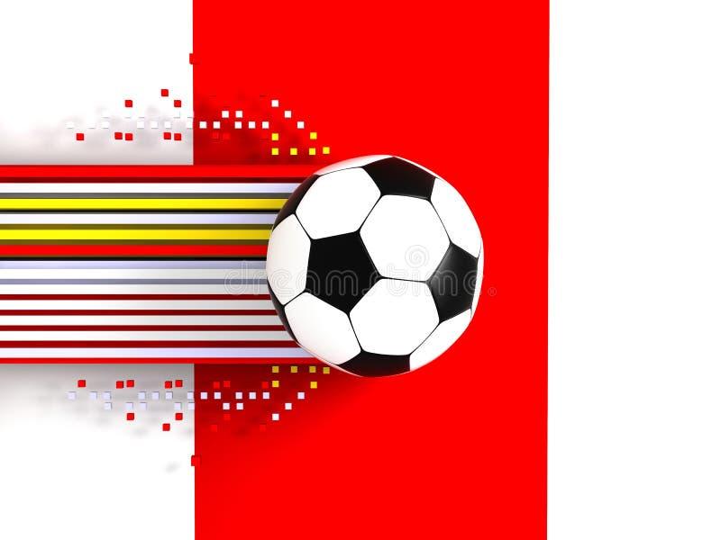 Bola de futebol imagens de stock