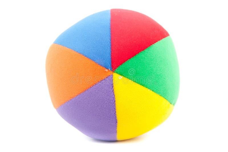 Bola de futebol do brinquedo imagem de stock royalty free