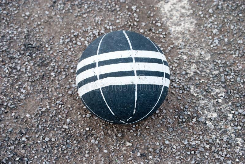 Bola de la cesta imagenes de archivo