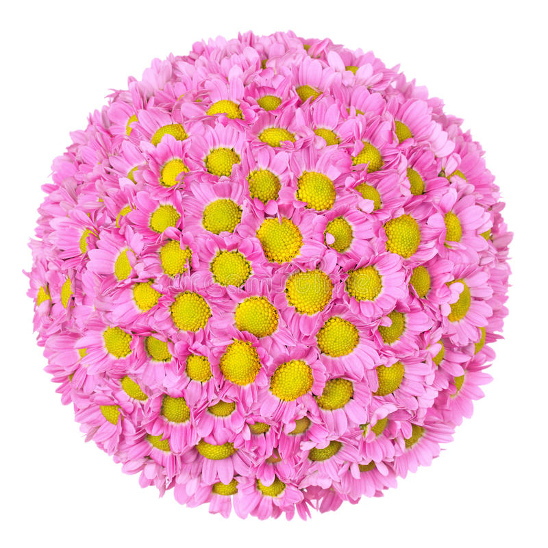 Bola de la flor fotografía de archivo libre de regalías