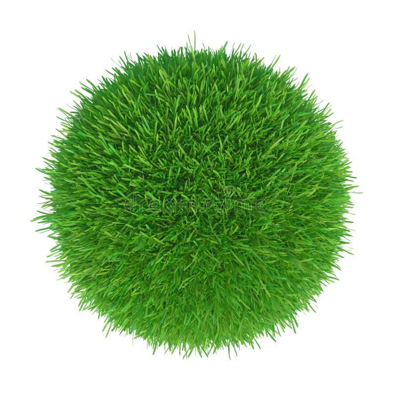 Bola de la hierba verde foto de archivo