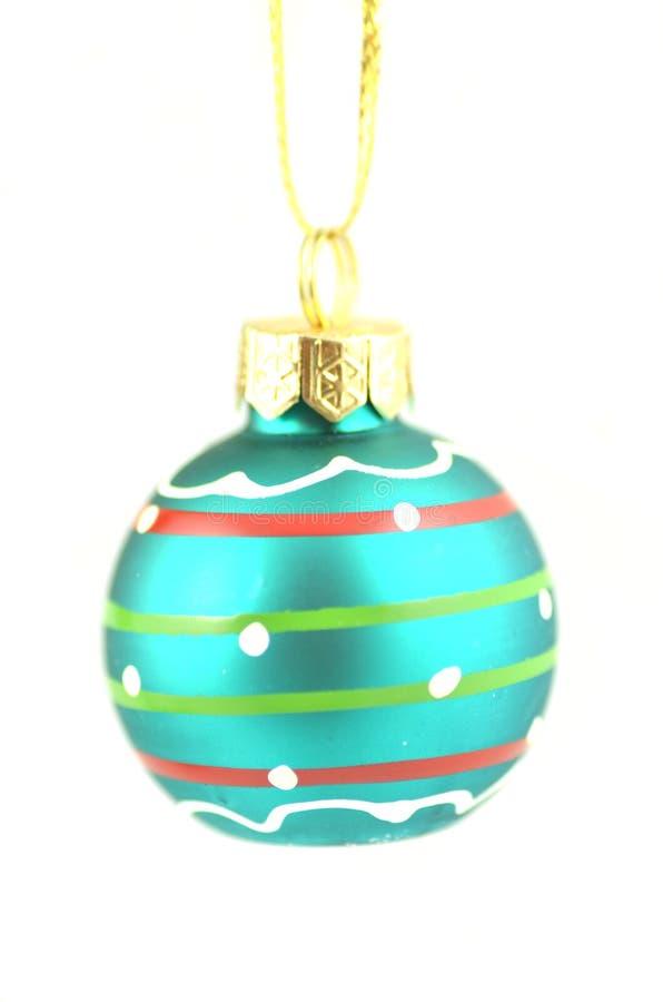 Bola de la Navidad aislada en el fondo blanco foto de archivo libre de regalías