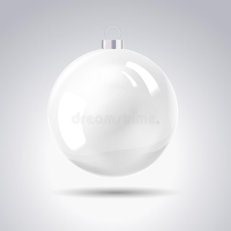 Bola de la Navidad de la esfera. stock de ilustración