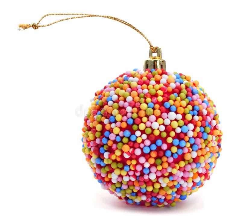 Bola de la Navidad del caramelo imágenes de archivo libres de regalías