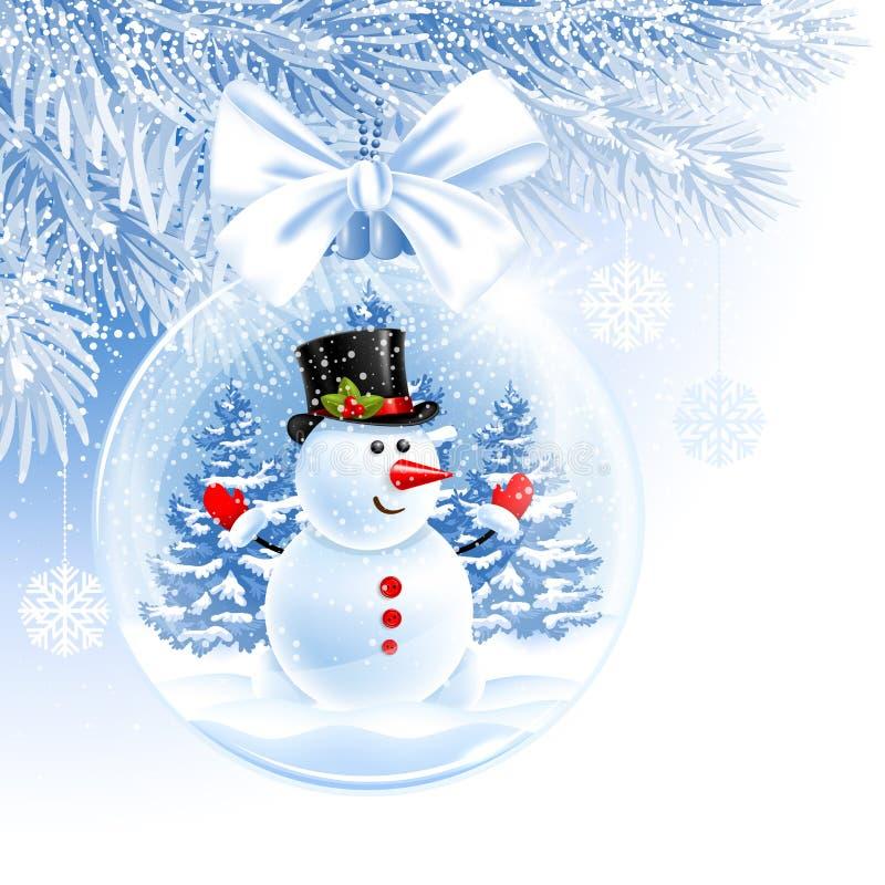 Bola de la Navidad y del Año Nuevo libre illustration