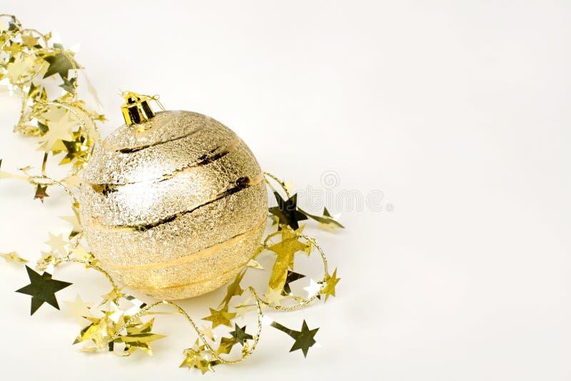 Bola de oro foto de archivo libre de regalías