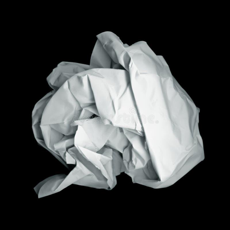 Bola de papel imagen de archivo libre de regalías