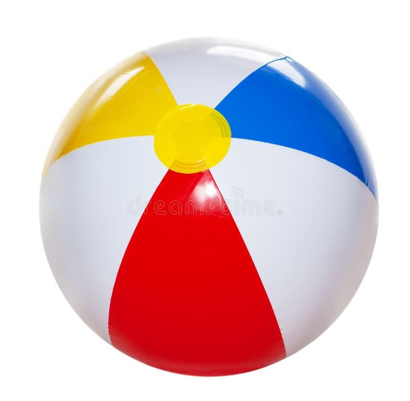 Bola de playa fotos de archivo