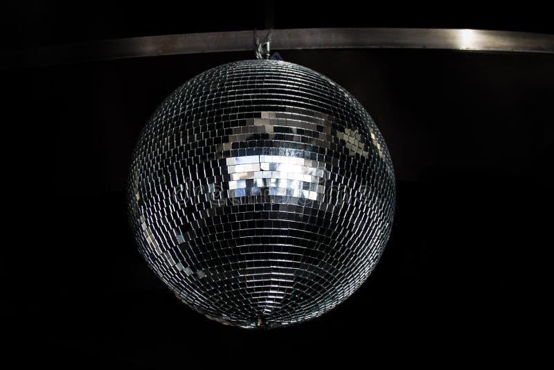 Bola de prata do espelho do disco, 2015 imagens de stock royalty free