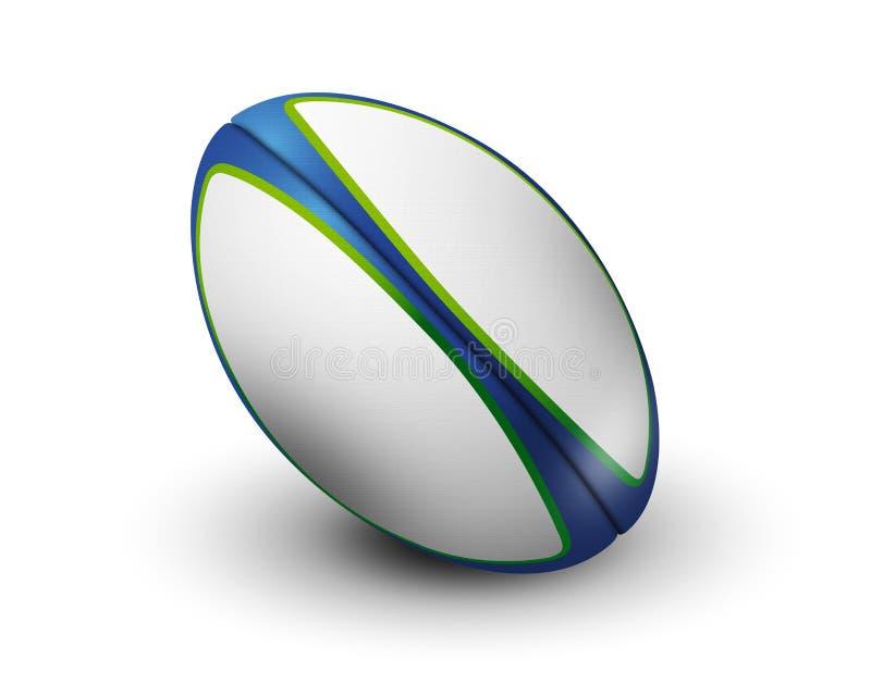 Bola de Rubgy aislada ilustración del vector