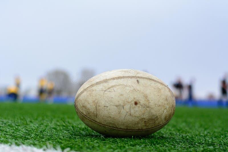 Bola de rugby fotos de stock royalty free