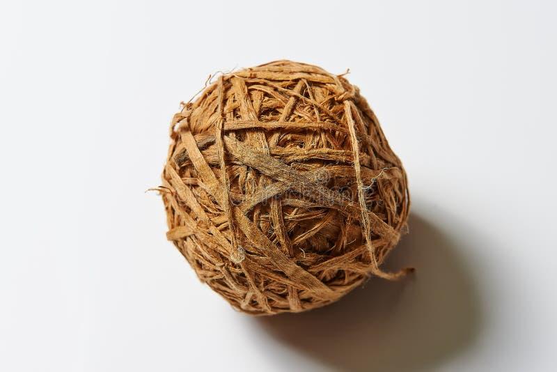 Bola decorativa para las fotos interiores del estudio imagenes de archivo