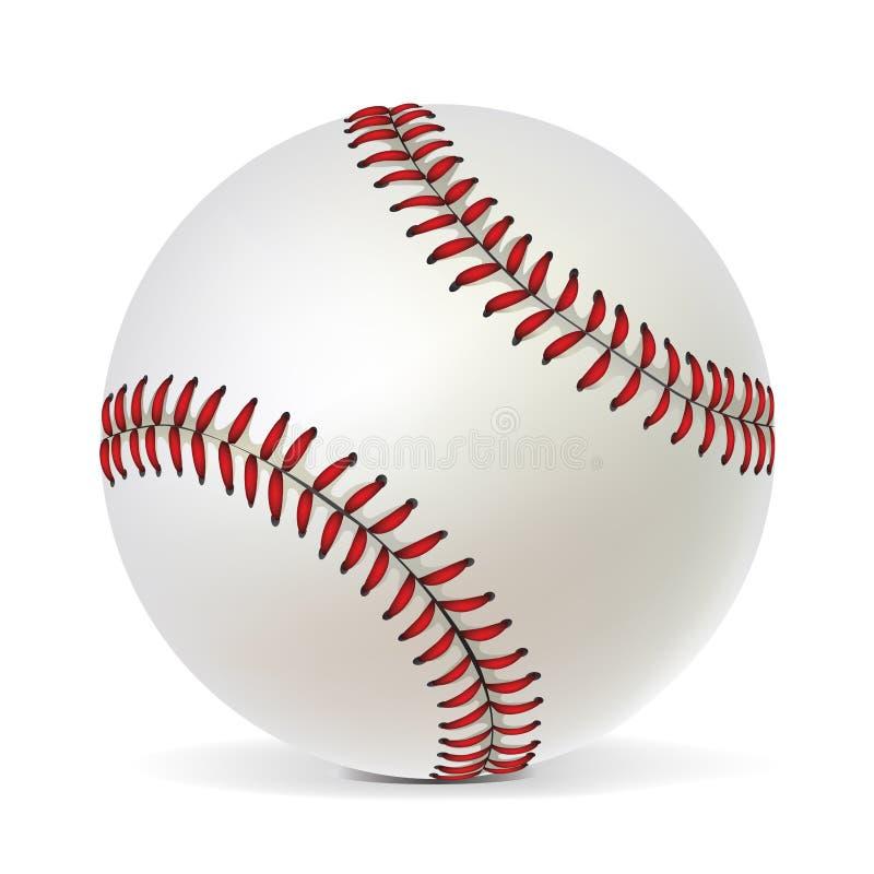 Bola del béisbol stock de ilustración