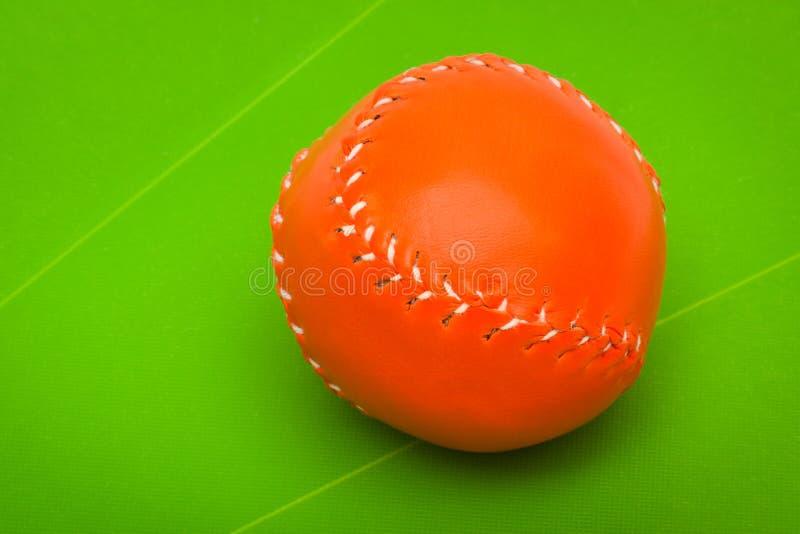 Nueva bola del béisbol foto de archivo libre de regalías