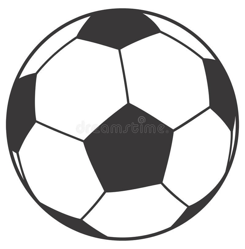Bola del balompié ilustración del vector