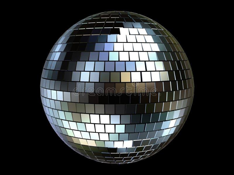 bola del disco 3d ilustración del vector