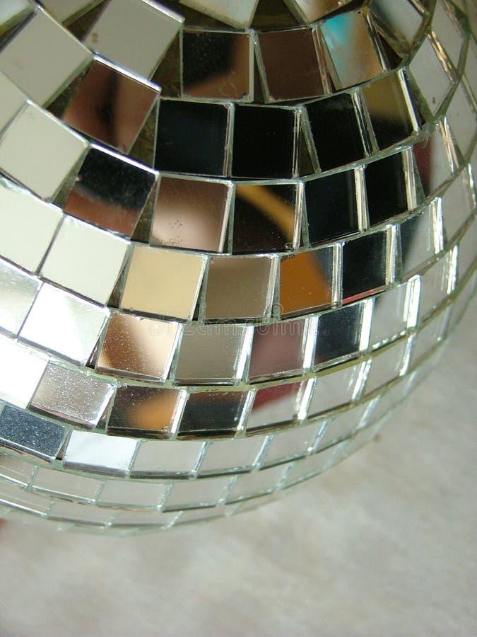 Bola del espejo del disco imagen de archivo libre de regalías