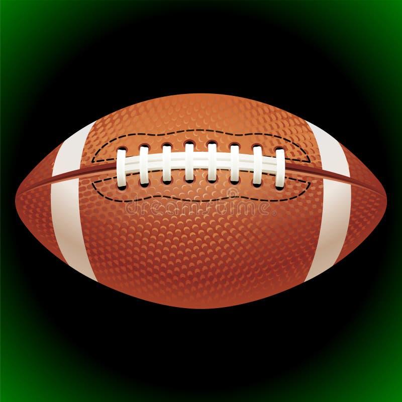 Bola del fútbol americano del vector libre illustration