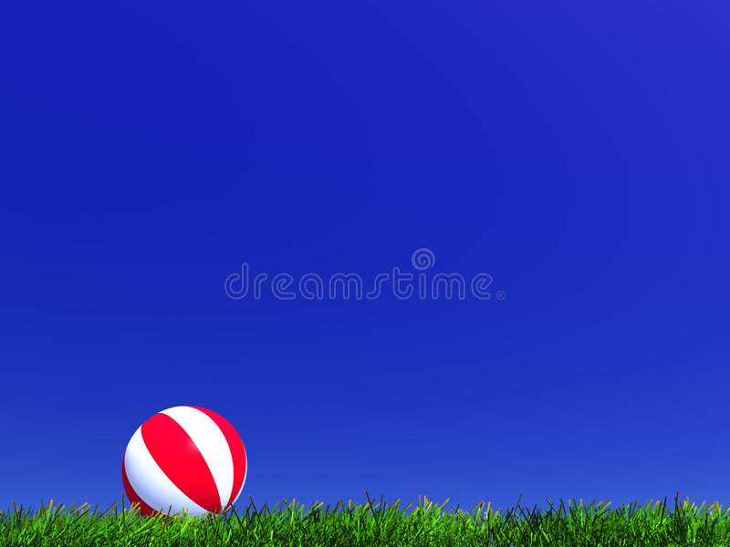 Bola del niño ilustración del vector