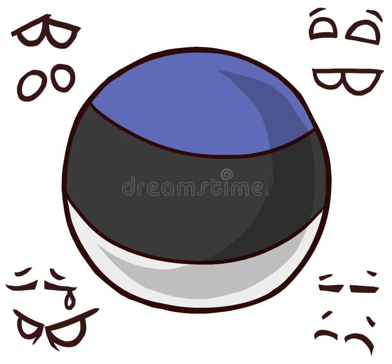 Bola del país de Estonia libre illustration