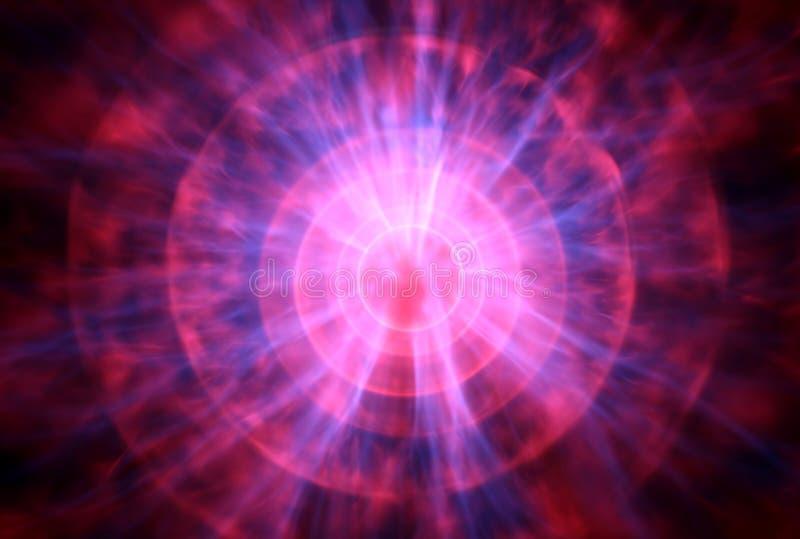 Bola del plasma ilustración del vector