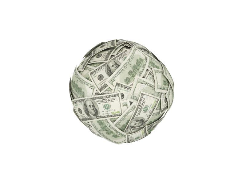 Bola do dinheiro imagem de stock royalty free