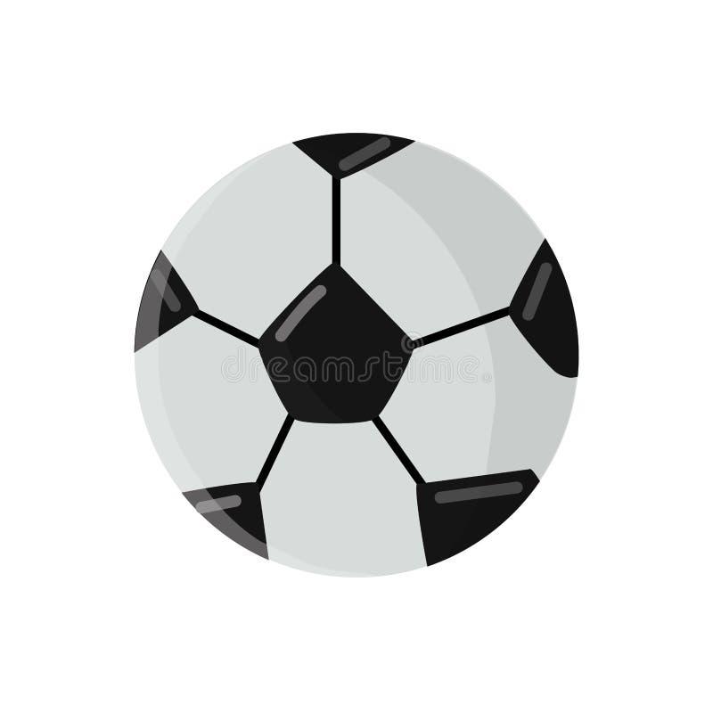 Bola do futebol do futebol ilustração do vetor
