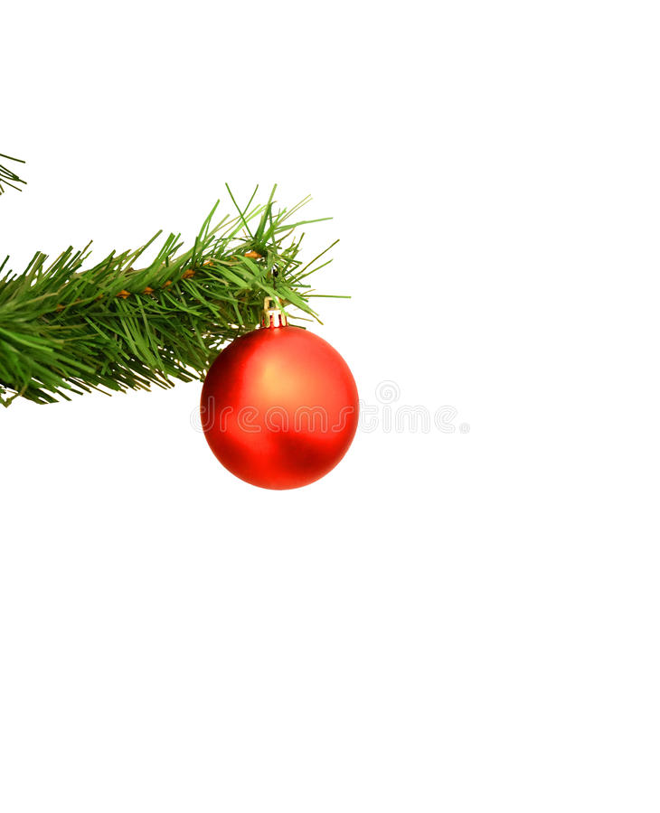 A bola do Natal imagens de stock