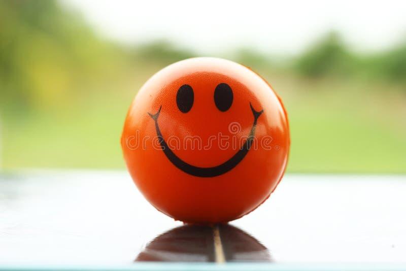 Bola do sorriso imagem de stock
