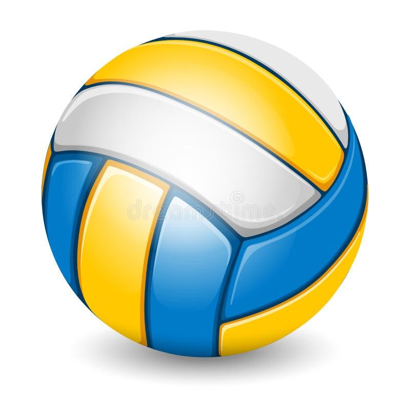Bola do voleibol ilustração do vetor