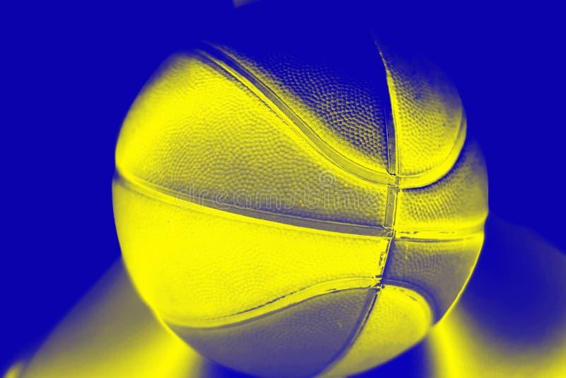 Bola do voleibol com um efeito do inclinação fotos de stock royalty free