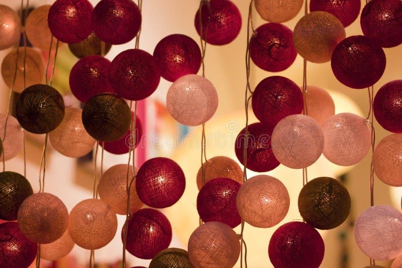 Bola ligera del color foto de archivo libre de regalías