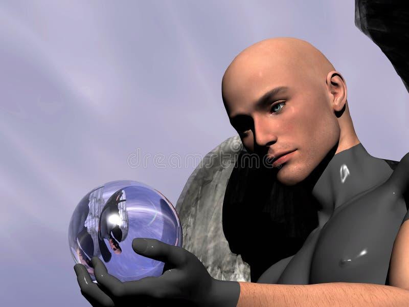 Bola mágica 2. ilustración del vector