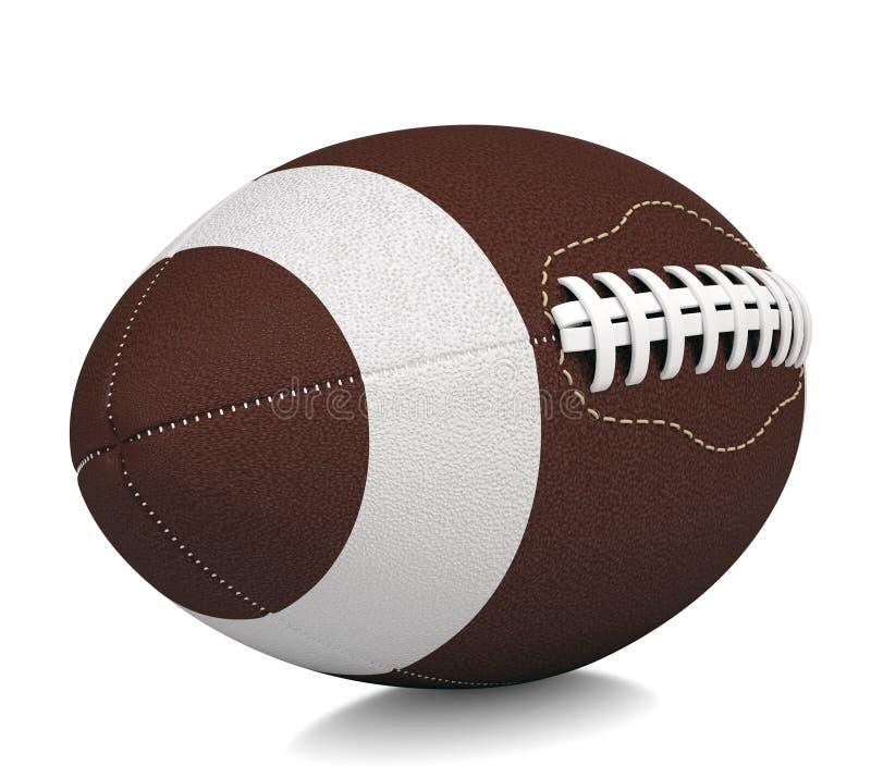 Bola para o futebol americano ilustração royalty free