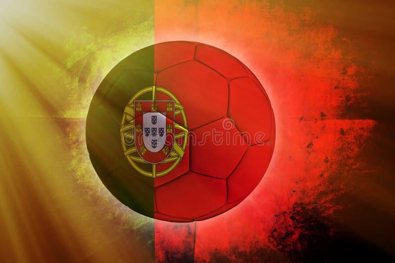 Bola portuguesa fotografia de stock royalty free