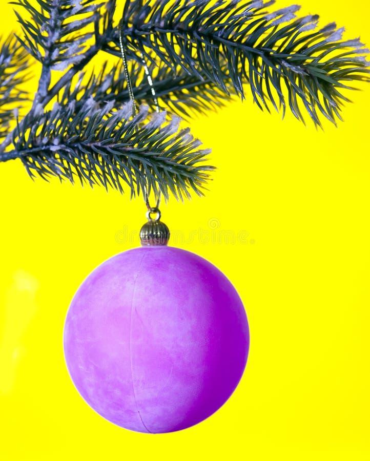 Bola rosada del Año Nuevo fotos de archivo libres de regalías