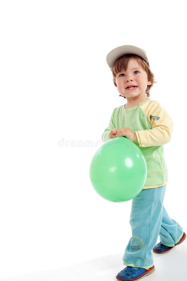 Bola verde imágenes de archivo libres de regalías