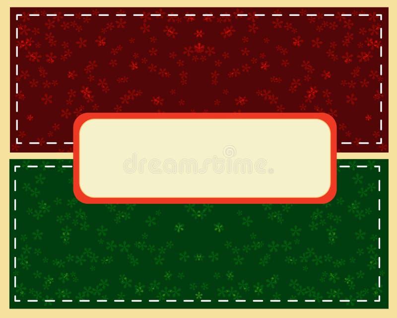 Bola verde abstrata do Natal cutted do papel no fundo ilustração do vetor