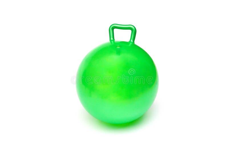 Bola verde de la tolva fotografía de archivo libre de regalías