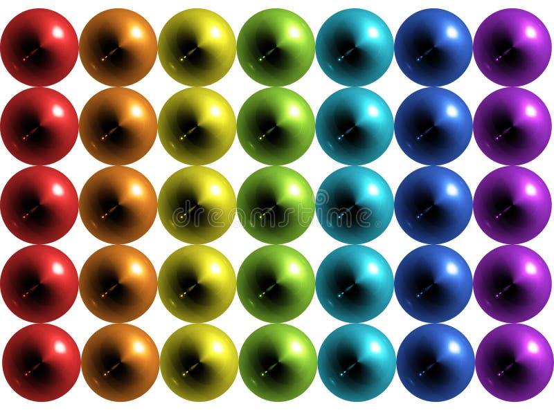 Bolas ilustración del vector