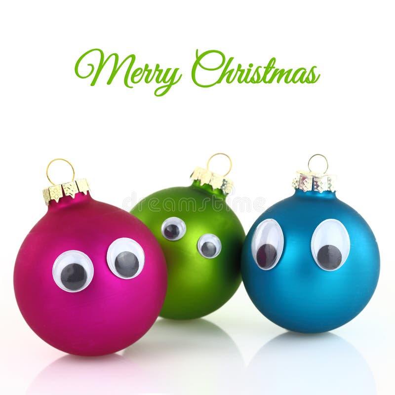 Bolas bonitos do Natal ilustração stock