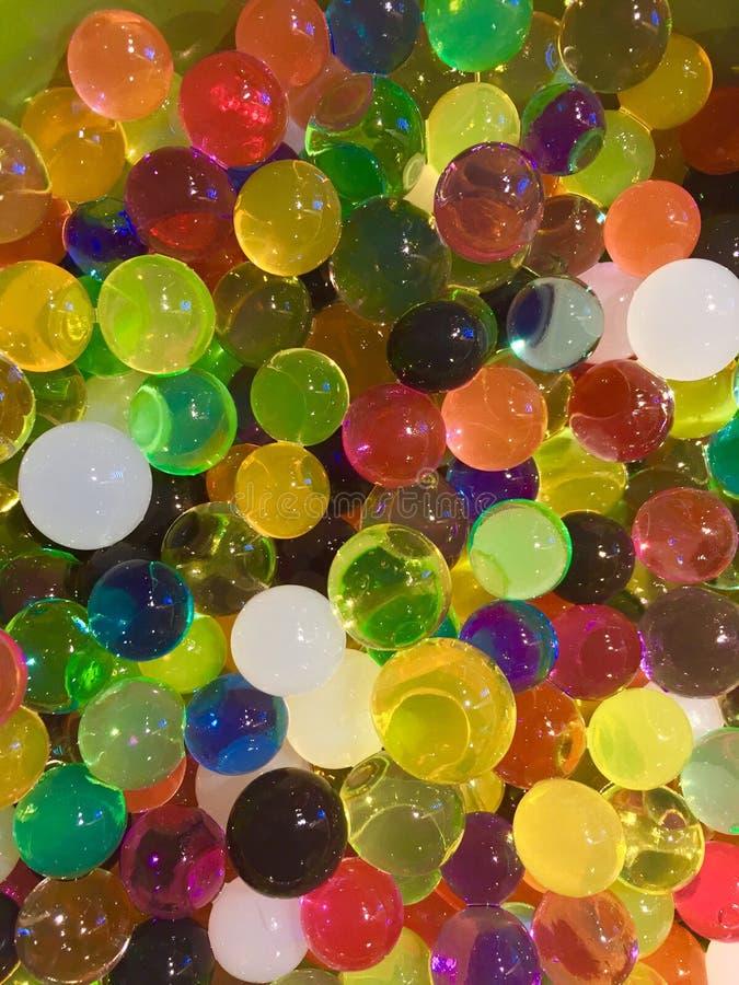 Bolas coloreadas imagen de archivo libre de regalías