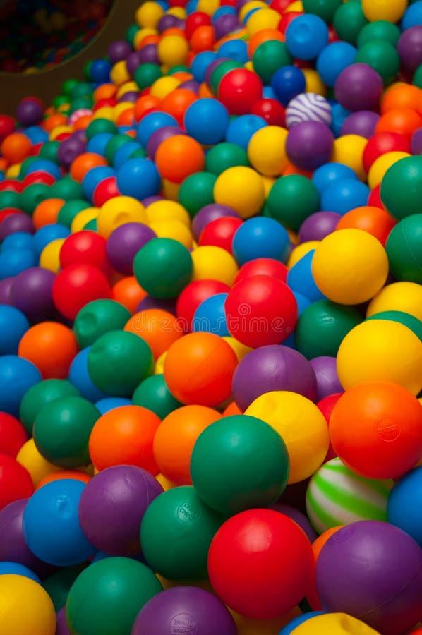 Bolas coloridas imagens de stock