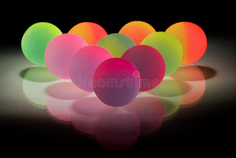 Bolas coloridas con estilo imágenes de archivo libres de regalías