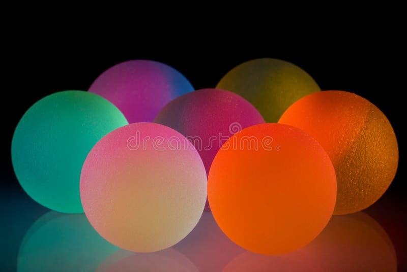 Bolas coloridas con estilo imagen de archivo