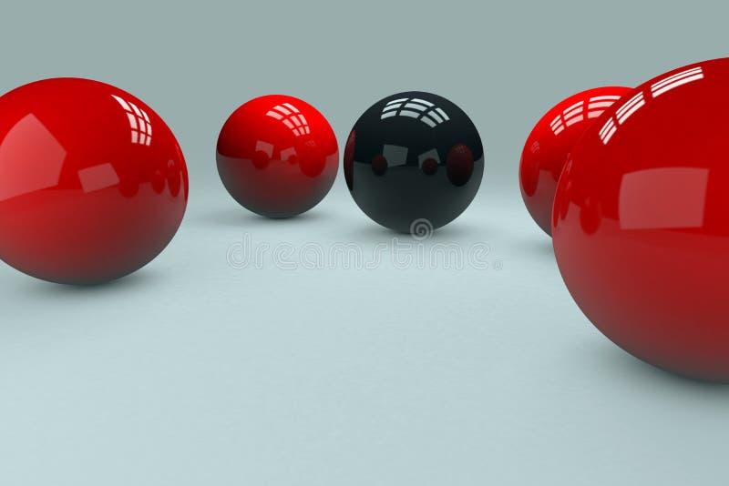 bolas 3D fotos de archivo