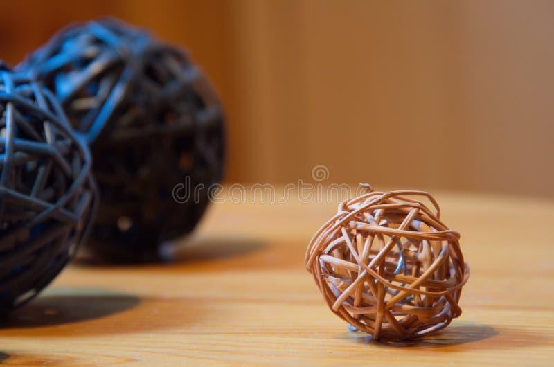 Bolas de bambu fotos de stock